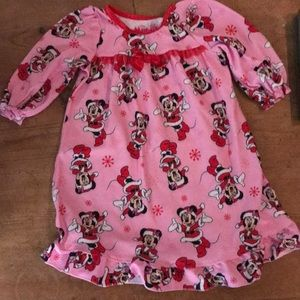 Disney Minnie Mouse nightgown 12m